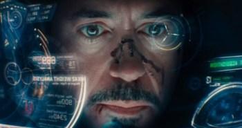 Iron Man 3 Robert Downey Jr. Headsup Display