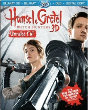 Hansel and Gretel: Witch Hunters 3D Blu-Ray