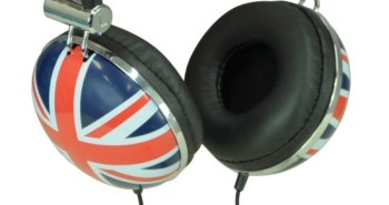 Union Jack Headphones
