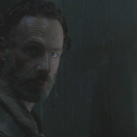 Rick, closing of Walking Dead Season Four