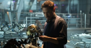 Robert Downey Jr. as Tony Stark in Avengers: Age of Ultron