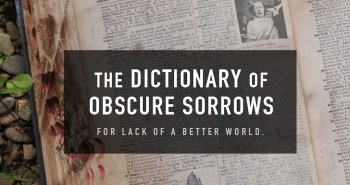 Dictionary of Obscure Sorrows