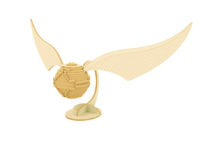 Incredibuilds Golden Snitch