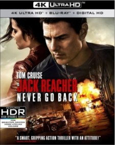 Jack Reacher Never Go Back 4K
