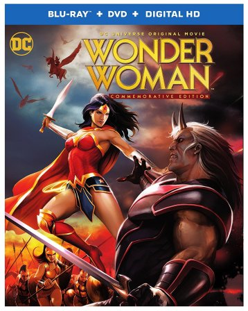 Wonder Woman Commemorative Edition Blu-Ray