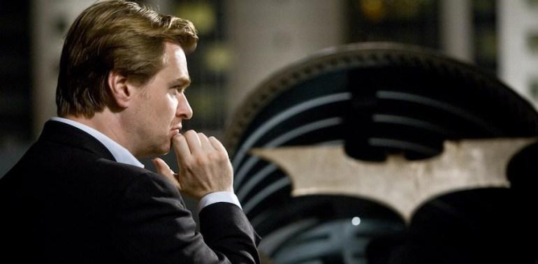 Christopher Nolan and the Bat Signal