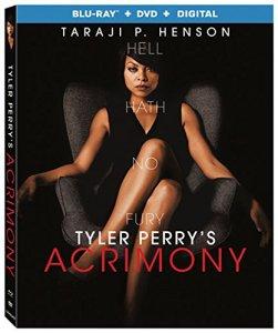 Acrimony Blu-ray