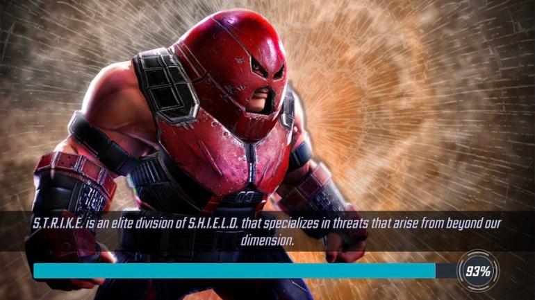Juggernaut from Marvel Strike Force