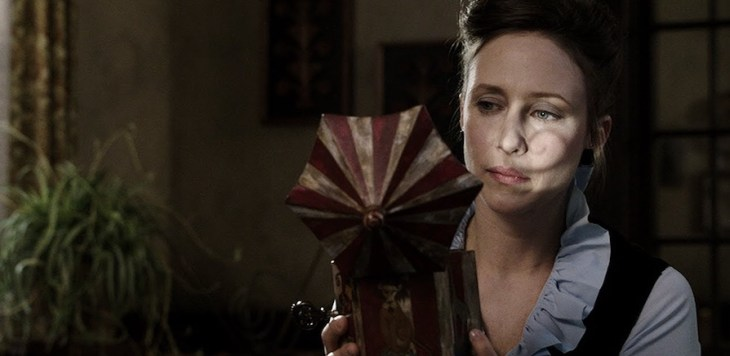 Vera Farmiga as Lorraine Warren in The Conjuring