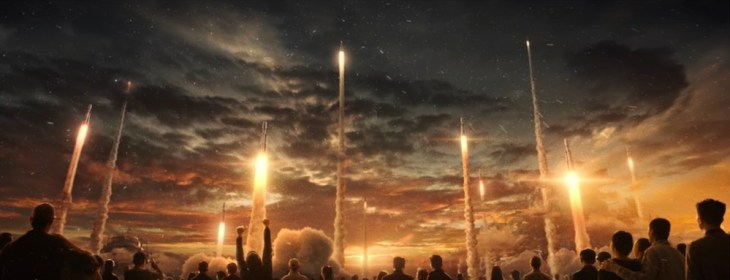 The Wandering Earth: massive takeoff