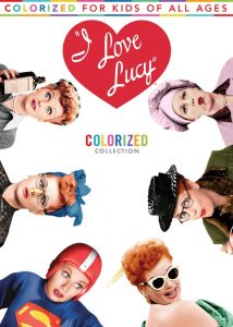 I love Lucy colorized
