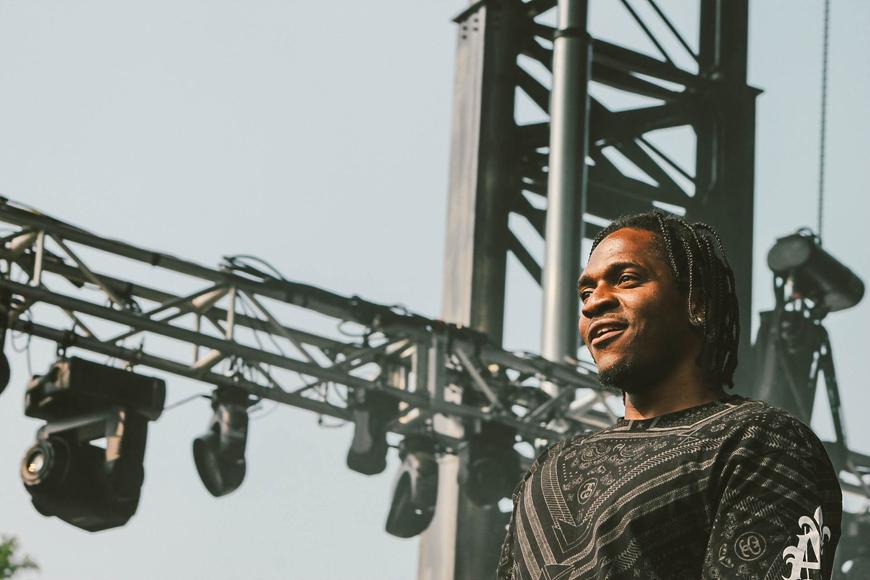 Pusha T @ Pitchfork Music Festival 2014
