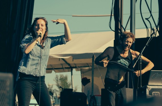 Sylvan Esso @ AVClub Fest 2014 - Chicago