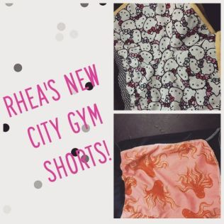 Purl Soho Gym City Shorts for Rhea