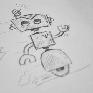 More fun sketching to keep myself creative!