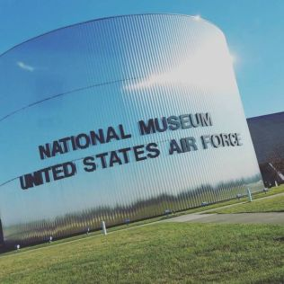 Visited the Air Force Museum for my Birthday this year