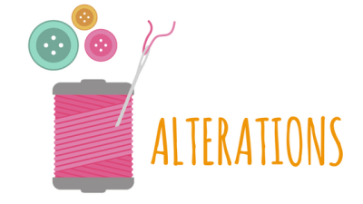 alterations CLOSED - NO ALTERATIONS