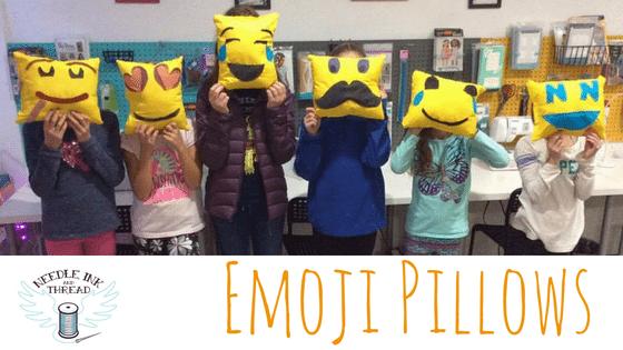 Create and Sew an Emoji Pillow