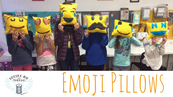 Create and Sew an Emoji Pillow