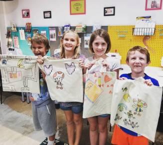 kids create; kids night in