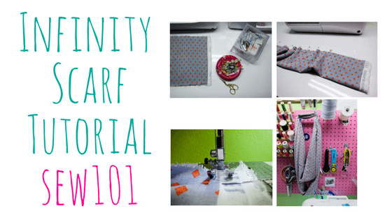 Infinity Scarf Tutorial – Great Beginner Project – Step by Step Photos