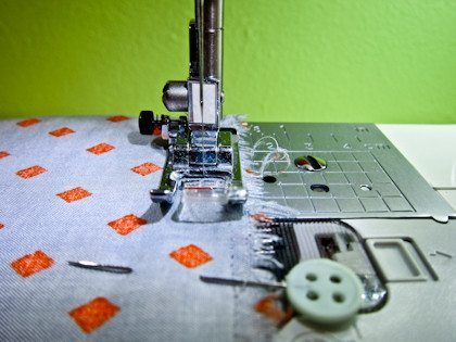 easy tip to have straight seams