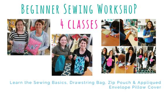 Sewing Basic Workshop Series