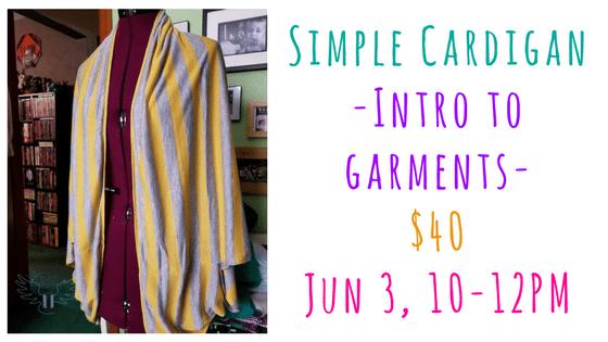 simple cardigan 10-12