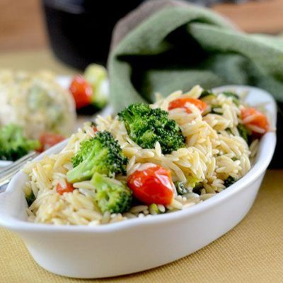 bf9e937a9c8da1b9e8be683eed196a65-400x400 Recipes: Food - Broccoli Orzo - Perfect Side Dish for Summer Cookouts!