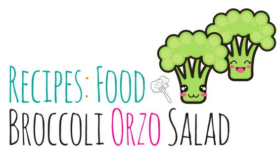 broccoli orzo salad