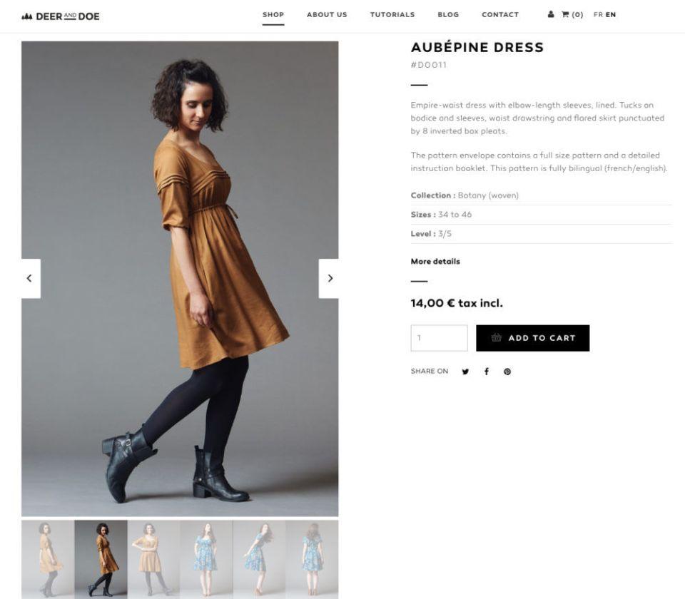 Doe and Deer dresses are so cute!