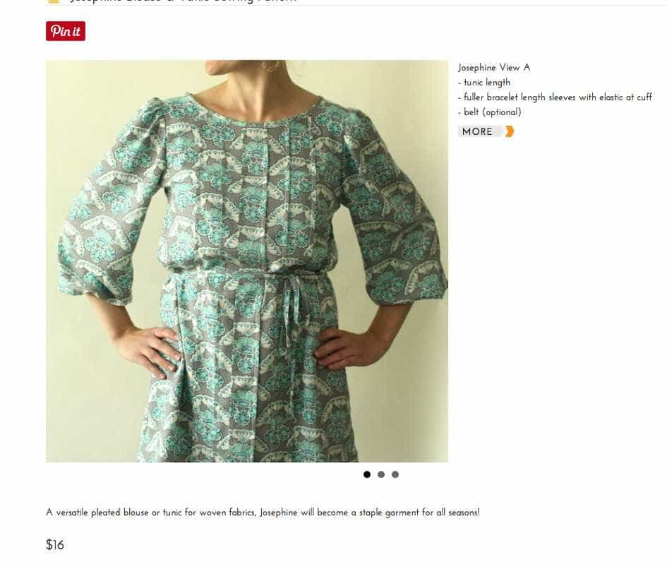 Josephine-Blouse-Tunic-Sewing-Pattern-Made-By-Rae-2017-08-04-13-54-56 Fall into Love; 10 Sewing Patterns Perfect for Autumn - 2017