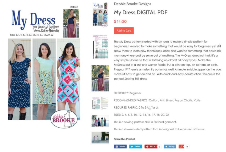 My-Dress-DIGITAL-PDF-–-Debbie-Brooke-Designs-2017-08-04-13-19-09 Fall into Love; 10 Sewing Patterns Perfect for Autumn - 2017