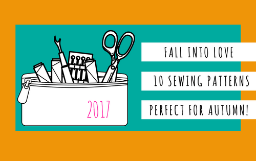 fall into love 10 sewing patterns