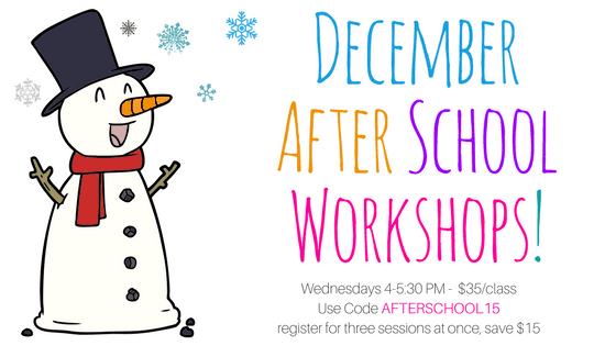 Kids After School Sewing Weekly Workshops - December @ Needle, Ink and Thread | Beavercreek | Ohio | United States