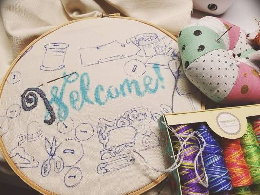 Learn the Basic Stitches of Embroidery! @ Needle, Ink and Thread | Dayton | Ohio | United States