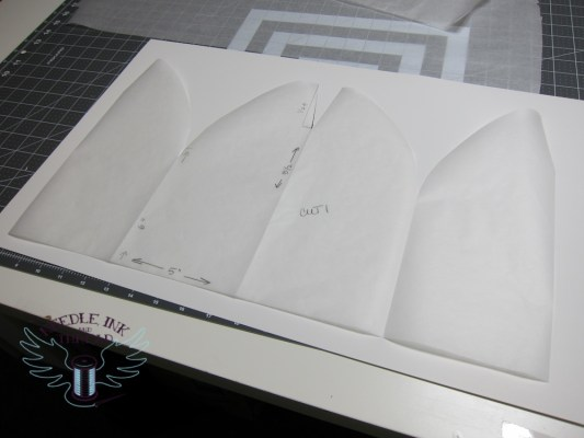 cutting out your tracing paper