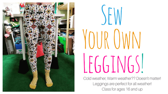 Sew Your Own Leggings! Sewing with Knits 101 @ Needle, Ink and Thread | Dayton | Ohio | United States