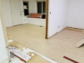 New flooring going down!