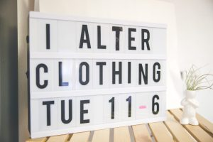 6544111f6f9 Alterations! Every Tuesday 11am-6pm - Hemming