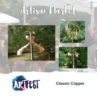 Classic-Copper ARTFest  is this weekend! Sun. Sept 16th 11-6PM