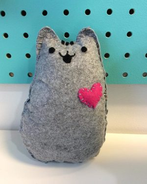 Pusheen Inspired Plushie
