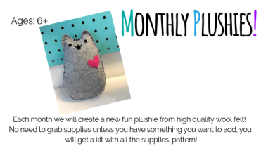 Monthly Pushie Class