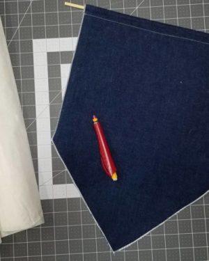fabric sewn banner