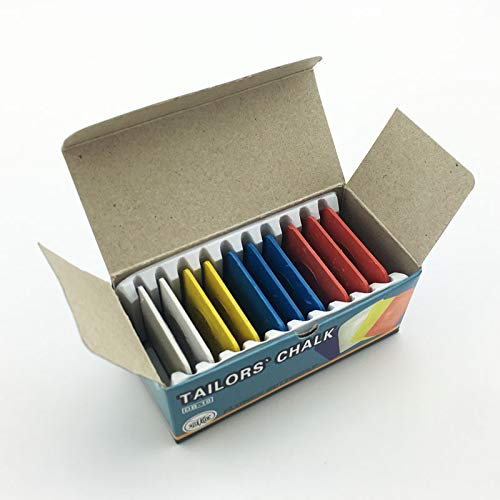 Professional Tailor's Chalk for Sewing 10PCS (4 Color)