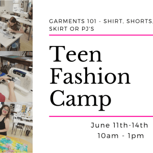 fashion camp for teens