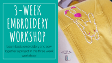 Basic Embroidery Workshop