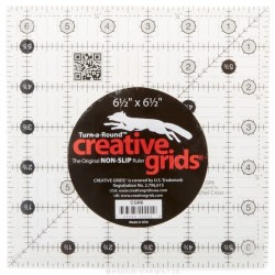 Creative Grids Quilting Ruler 6 1/2in Square SKU# CGR6 -C