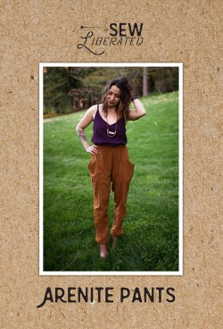 Arenite Pants -Sew Liberated - # SLN129 - Printed Pattern