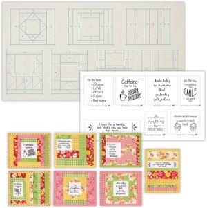 Quilt As You Go Inspirational Mug Mat Charming Series # JT-1451